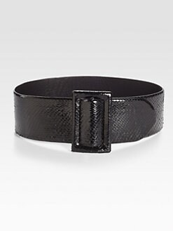 Ralph Lauren Collection - Wide Python Belt