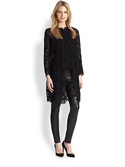 Ralph Lauren Black Label - Thora Lace Duster Jacket