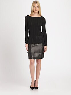 Ralph Lauren Black Label - Lace Boatneck Top