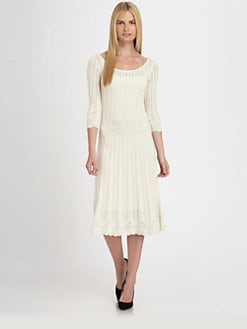 Ralph Lauren Black Label - Silk Knit Lace Dress
