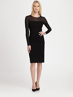 Ralph Lauren Black Label - Illusion Dress