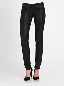 Ralph Lauren Black Label - 105 Coated Cigarette Jeans