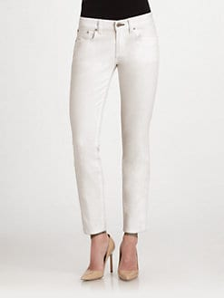 Ralph Lauren Black Label - 400 Cropped Matchstick Jeans
