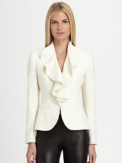 Ralph Lauren Black Label - Abriella Ruffle Jacket