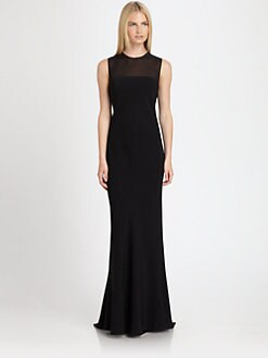 Ralph Lauren Black Label - Admina Illusion Gown