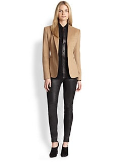 Ralph Lauren Black Label - Camel Hair Dabney Jacket