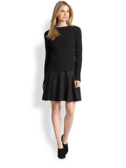 Ralph Lauren Black Label - Cashmere Elbow-Patch Sweater