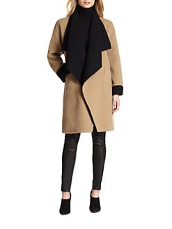 Ralph Lauren Black Label - Reversible Wool & Angora Mallory Coat
