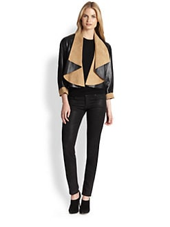 Ralph Lauren Black Label - Reversible Leather & Suede Nichol Jacket