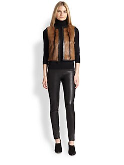 Ralph Lauren Black Label - Ellery Goat Fur Vest