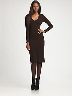 Ralph Lauren Black Label - Cashmere Dress