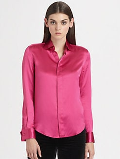 Ralph Lauren Black Label - Silk Aston Shirt