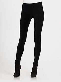 Ralph Lauren Black Label - Velvet Leggings