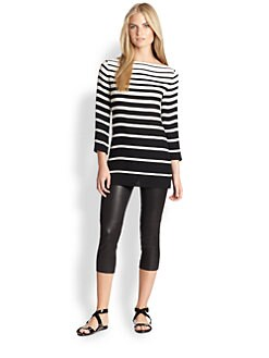 Ralph Lauren Black Label - Linette Stripe Tunic