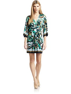 Ali Ro - Paisley Printed Jersey Dress