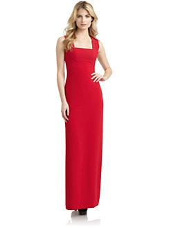 BCBGMAXAZRIA - Agata V-Back Gown