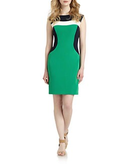 Chetta B - Contour Colorblock Dress