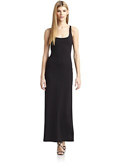 susana monaco - Crossback Maxi Dress