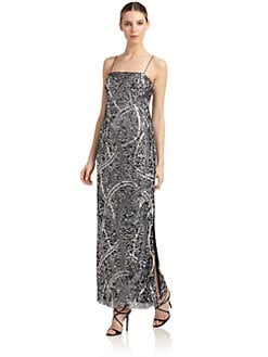 Aidan Mattox - Embellished Evening Gown