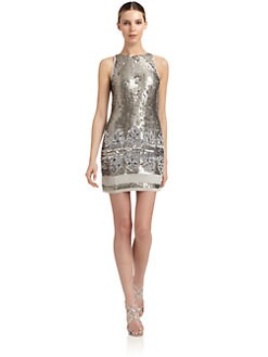 Aidan Mattox - Embellished Shift Dress