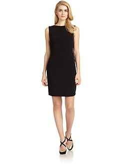 Badgley Mischka - Embellished Cowlback Jersey Dress
