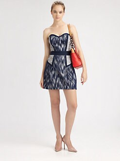Milly - Diana Strapless Dress