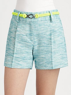Milly - Kerry Tweed Shorts