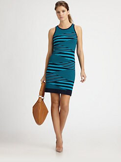 Milly - Mirage Striped Dress