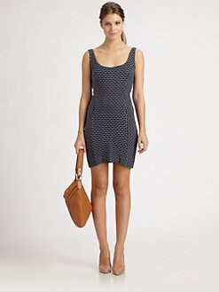 Milly - Marla Scoopback Tank Dress