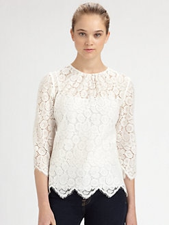 Milly - Ivy Lace Blouse