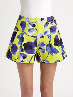 Milly - Susie Pleated Shorts