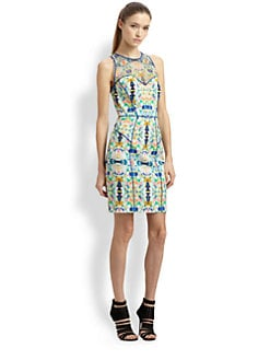 Milly - Mesh Racer Dress
