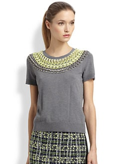 Milly - Liya Embellished Top