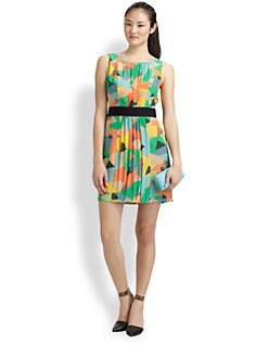 Milly - Geometric Sheath Dress