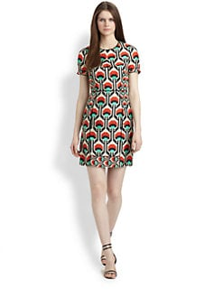 Milly - Printed Silk Dress