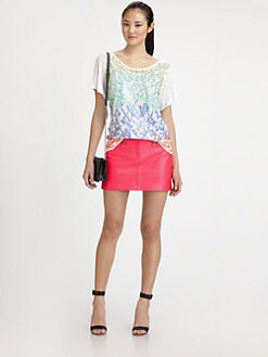 Milly - Stella Sequin Tee