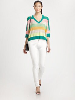 Milly - Sabrina Striped Sweater