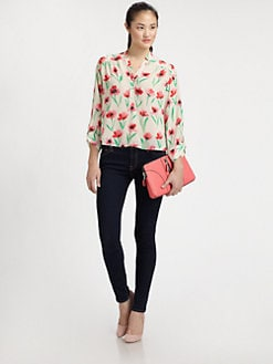 Milly - Camilla Floral Blouse