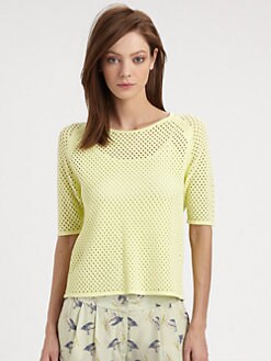 Milly - Erin Mesh Sweater