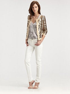 Milly - Adriana Sequin Jacket