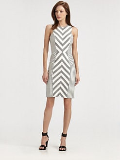 Milly - Chevron Dress