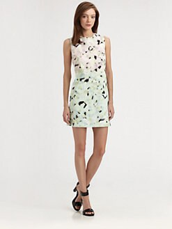 Milly - Eloise Printed Shift Dress