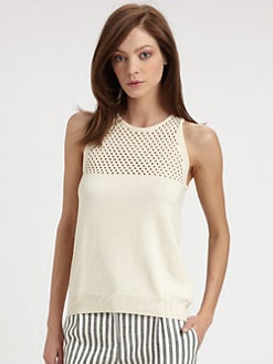 Milly - Mesh Panel Top