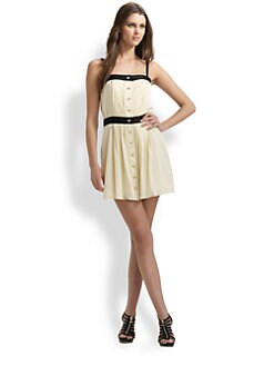Milly - Pleated Camisole Dress