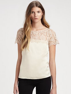 Milly - Mila Lace Combo Top