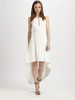 Milly - Hi-Lo Jersey Dress