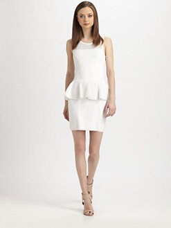 Milly - Nicole Peplum Dress