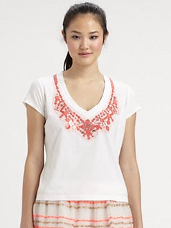 Milly - Skyler Beaded Tee