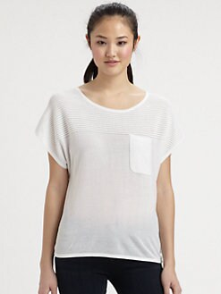 Milly - Tara Perforated Tee