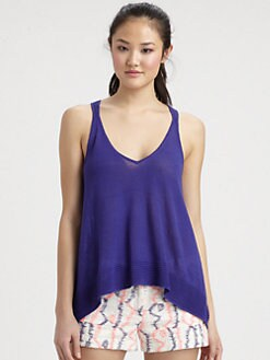Milly - Eliana Pointelle Swing Tank